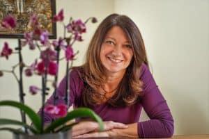 Christiane, die Inhaberin von Ayur-Taste